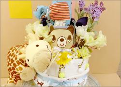 出産祝いにベビーケーキ